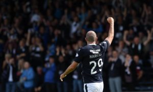 Gary Harkins fostered a strong bond with the Dundee fans as a player