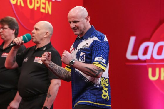 Alan Soutar is looking forward to the PDC World Championships in December