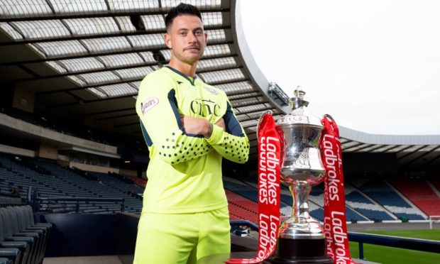 Dick Campbell has tipped keeper Calum Antell to make an impact at Arbroath