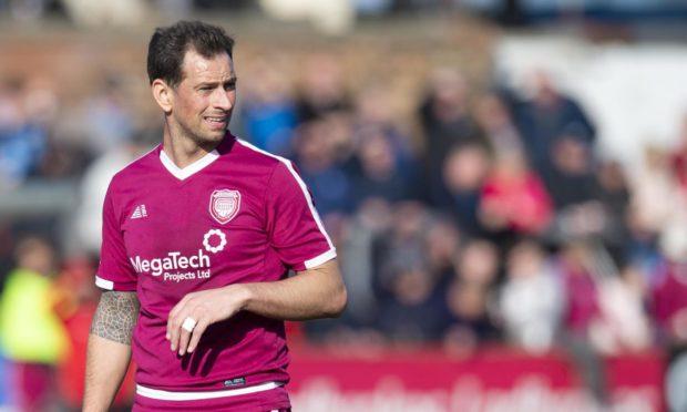 Gavin Swankie has landed a new deal at Arbroath