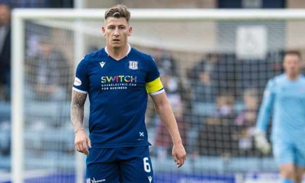 Josh Meekings during his time at Dundee.