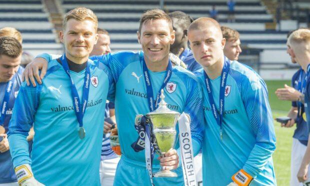 (L-R) Robbie Thomson, David McGurn and Kyle Bow