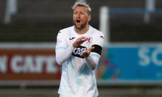 Iain Davidson has joined Brechin having played over 500 games for Raith Rovers