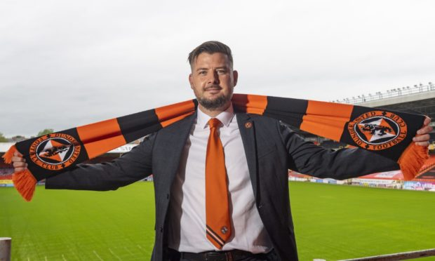 Dundee United head coach Tam Courts.