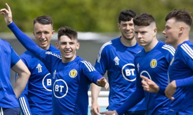 Billy Gilmour and his Scotland team-mates have got a lot to smile about.