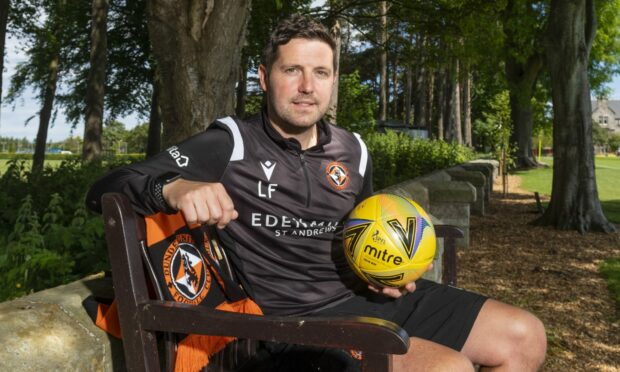 Dundee United assistant manager Liam Fox.