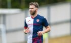 James Keatings has lacked game time at Raith Rovers,