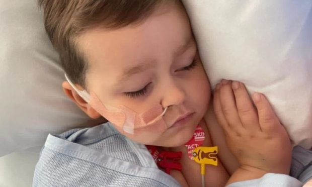 A fundraising appeal has been launched after Oaklié was airlifted to hospital after his kidneys failed