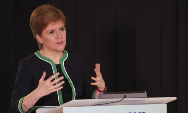 First Minister Nicola Sturgeon. (Library image).