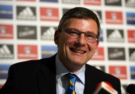 Craig Levein managed Scotland for three years but is excited by his new role at Brechin City