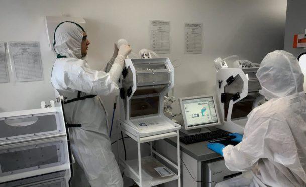 An 8 litre CellMaker in the Cellexus lab.