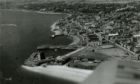 Broughty Ferry pictured from the air in 1954.
