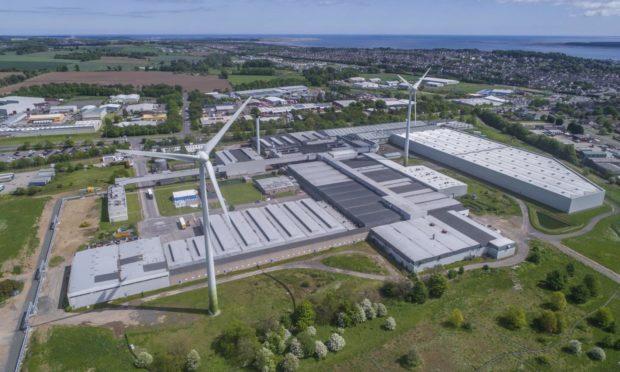A CGI of the Michelin Scotland Innovation Parc