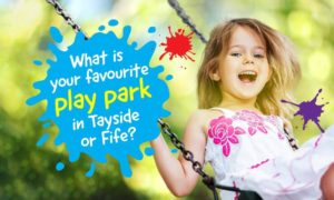 favourite play parks Tayside Fife
