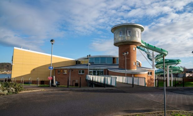 Burntisland Beacon Leisure Centre as it gets ready to reopen