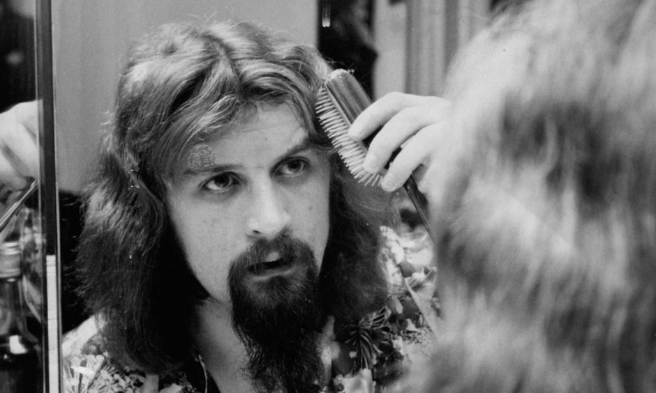 Billy Connolly performed at the Abbey Club in Arbroath in the 1970s.