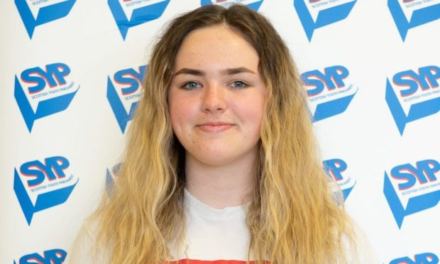 Brooke Barr, MSYP for Angus South.