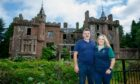 Culdees Castle owners Tracey Horton and her partner Robbie Beaton.