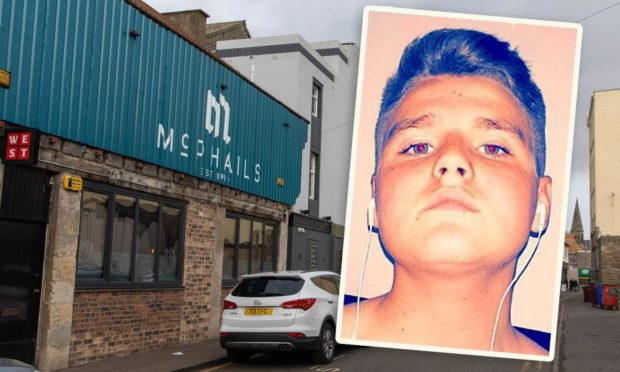 Curtis Ross' rant started when he was denied entry to McPhails