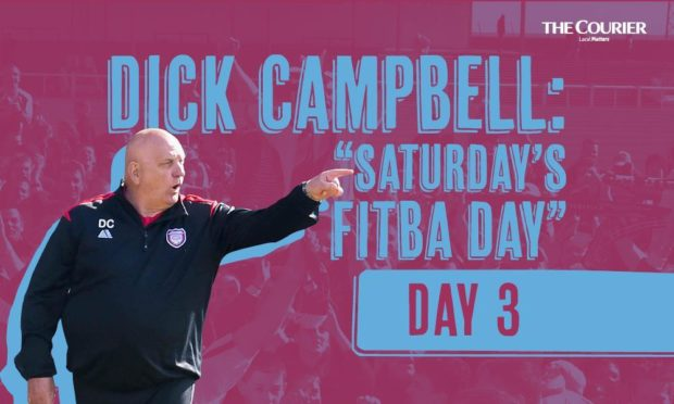 """Dick Campbell: """"I want to take Arbroath to the Scottish Premiership – anyone who thinks I'm an idiot better tell me to my face"""""""