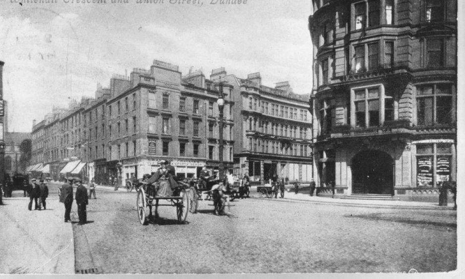 Whitehall Crescent and Union Street in the 1800s.