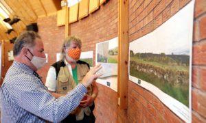 People attending the berryhill solar farm consultation.