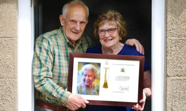 Bill and Betty Hourston have been married for 60 years.
