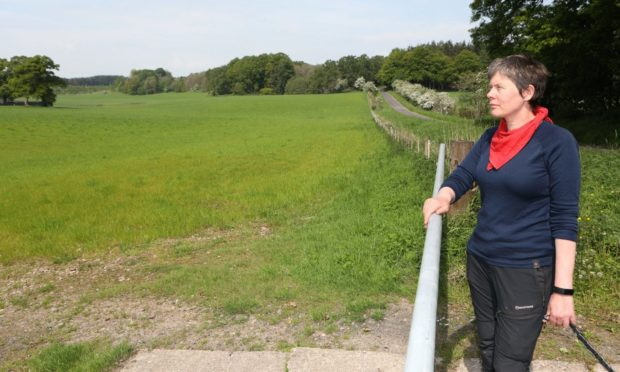 Environment campaigner Felicity Graham opposes the Cross Tay Link Road