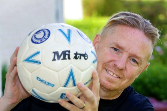 Jimmy Etchels from Dundee whose life was saved by a defibrillator