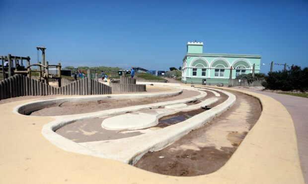 The original Seafront Splash paddling pool is to be removed.