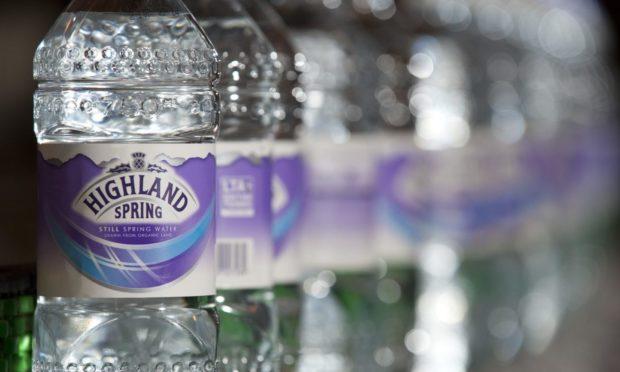 Highland Spring bottling line.