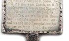 Horn book, £8,500 (Woolley & Wallis).