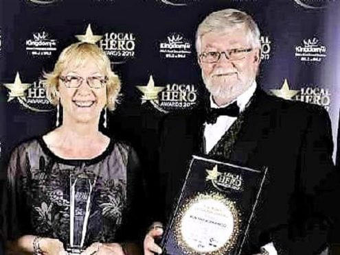 Norma and Ron Nicol both awarded a joint BEM in the Queen's Birthday Honours list.