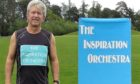 Ian White running 10k for Inspiration Orchestra in Perth