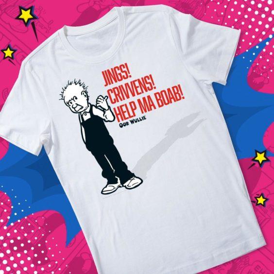 Jings, Crivvens, Help Ma Boab! T-Shirt.