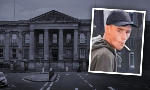 Jay Taylor appeared at Dundee Sheriff Court