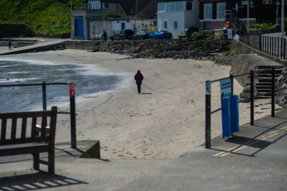 The Fife beach has been deemed the UK's dirtiest in a new study.
