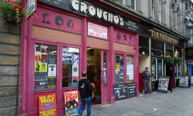 Groucho's, Nethergate, Dundee.