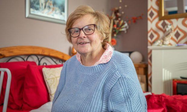 Margaret Macaskill safely back at home.