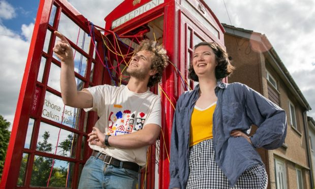The 201 Telephone Box Gallery in Strathkinness celebrates its third birthday with a new exhibit.
