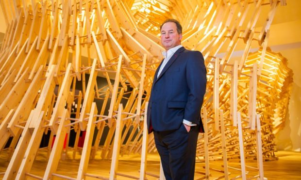 Tricorn Capital owner and V&A Dundee chair Tim Allan.