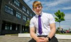 Max Rafferty, 16, took part in a cyber security course aimed at neurodivergent Levenmouth Academy pupils.