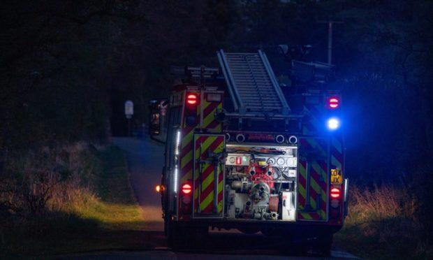 fire Lower Largo Fife