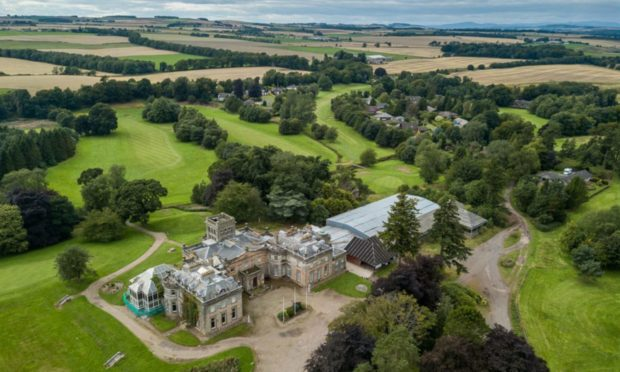 Letham Grange was a thriving hotel and golf resort.