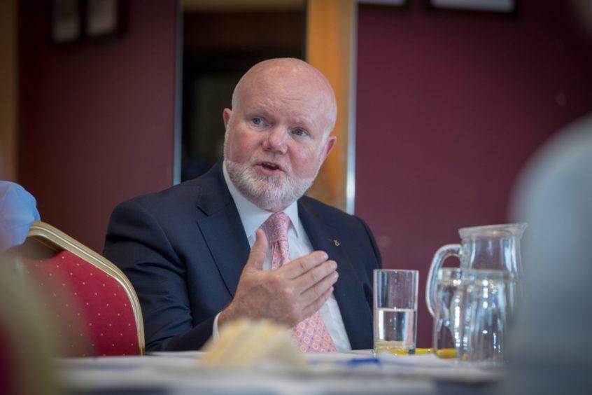 Colin Beattie MSP.