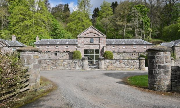PROPERTY: Award winning mill conversion near Crieff has stream flowing through it and £1 million price tag