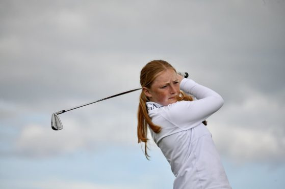 Leading qualifier at Gullane was Louise Duncan.