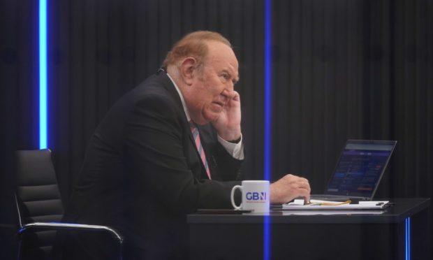 Andrew Neil on GB News. Photo: Yui Mok/PA Wire