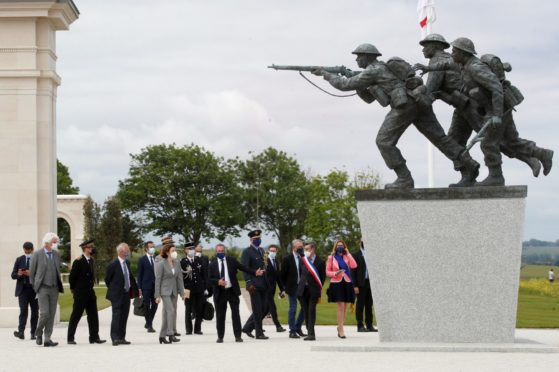 The new D Day memorial in Normandy.