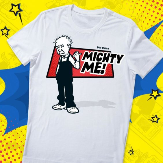 Michty Me Oor Wullie T-Shirt.